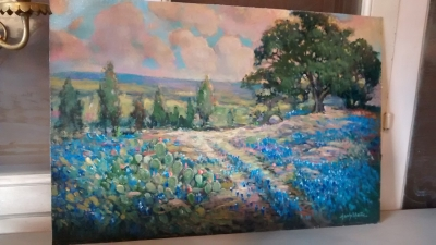 BLUE BONNET PAINTING BY HARDY MARTIN.jpg