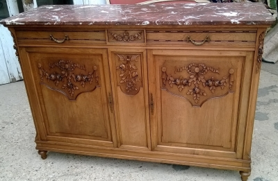sold sorry! 14D02024 LOUIS XVI BUFFET DEUX CORPS