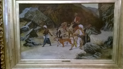 15F FRAMED OIL PAINTING- THE CAPTURE (1).jpg