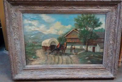 15F04 WAGON OIL PAINTING.jpg