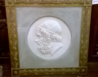 15F30600 FRAMED GREEK HEAD PLASTER RELIEF (2).jpg