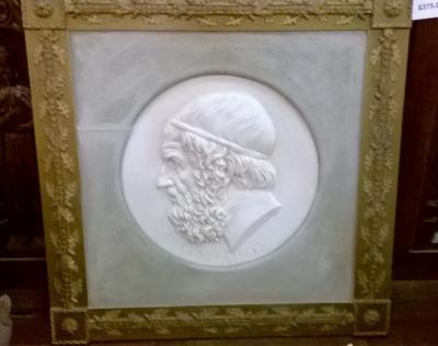 15F30600 FRAMED GREEK HEAD PLASTER RELIEF (2).jpg