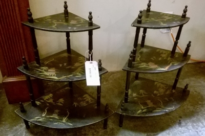 15F18267 PAIR OF EBONIZED CORNER SHELVES (2).jpg