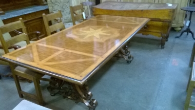 15G08 INLAID TABLE WITH IRON TRESTLE BASE (1).jpg