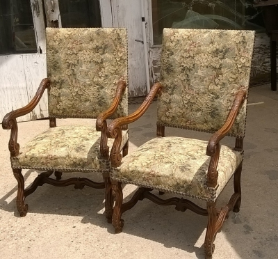 15G21010 PAIR OF LOUIS XIV ARM CHAIRS (1).jpg