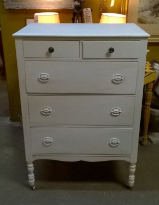 15G14 PAINTED WHITE 5 DRAWER CHEST.jpg