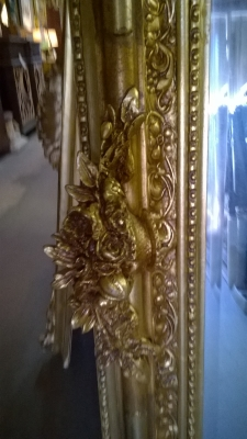 15G24511 TWO OF TWO LOUIS XV GILT MIRRORS (4).jpg