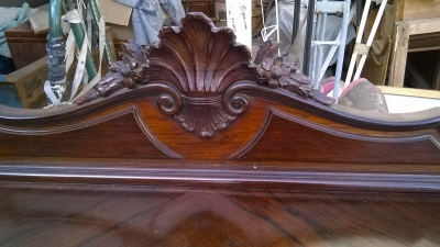 15G25625 LOUIS XV ROSEWOD SIDEBOARD 9 AND A HALF FT. LONG  (4).jpg