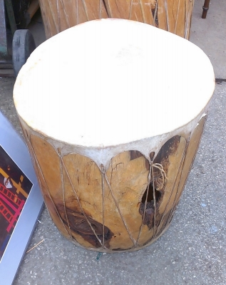 15G30010 SMALL WOOD AND LEATHER DRUM.jpg