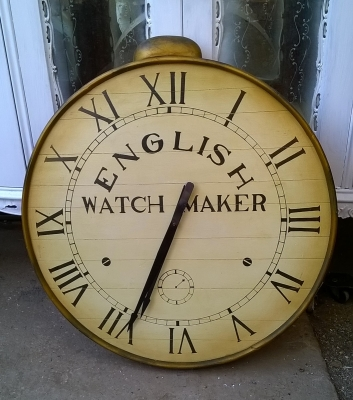 15G30017 NOT OLD WATCH CLOCK WALL HANGING (1).jpg