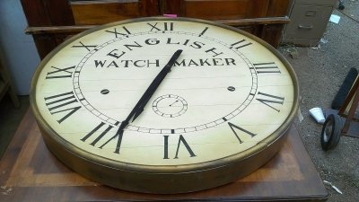15G30017 NOT OLD WATCH CLOCK WALL HANGING (2).jpg