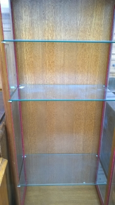 15H08 OAK GLASS DISPLAY CASE (3).jpg