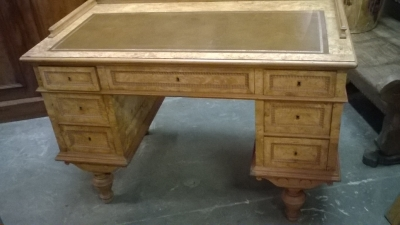15H LEATHER TOP BURLED WOOD DESK.jpg