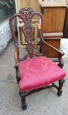 15H24 SET OF 6 CARVED HIGHBACK CHAIRS WITH 2 ARM CHAIRS (2).jpg