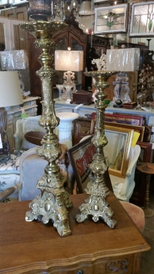 15I03 BRASS CANDLE STANDS.jpg