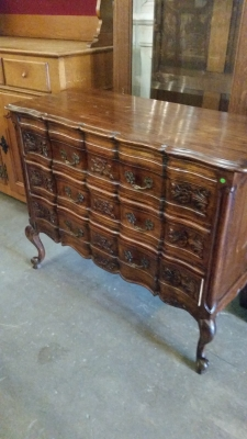 15I03 DARK OAK LOUIS XV COMMODE (2).jpg