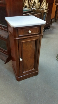 15I03 LOUIS PHILLIPE MARBLE TOP STAND.jpg