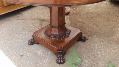 15I03 LOUIS PHILLIPE MARBLE TOP TABLE (3).jpg