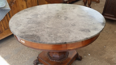 15I03 LOUIS PHILLIPE MARBLE TOP TABLE (4).jpg