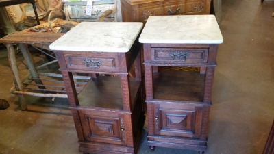 15I03 PAIR OF FRENCH MARBLE TOP STANDS (2).jpg