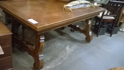 36-SPANISH STYLE TRESTLE BASE TABLE.jpg