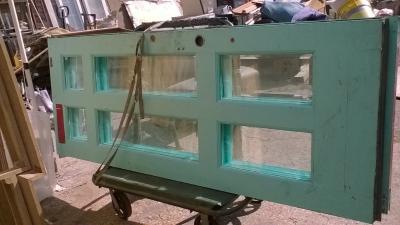 15I12  SET OF 3 BEVELED GLASS FRENCH D00RS (1).jpg