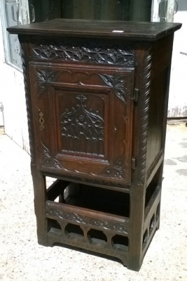 15I15 GOTHIC PINE CREDENCE CABINET (1).jpg