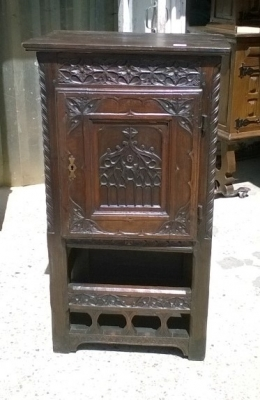 15I15 GOTHIC PINE CREDENCE CABINET (2).jpg