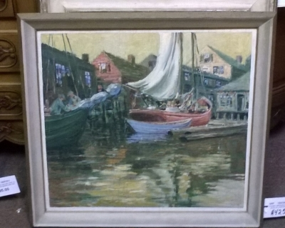 15I27 IMPESSIONIST SAIL BOAT PAINTING.jpg
