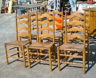 KAP SET OF 6 VINTAGE RUSH SEAT MAPLE CHAIRS (1).jpg