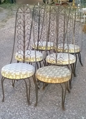 15J08001 SET OF 6 TALL BACK WROUGHT IRON CHAIRS (1).jpg