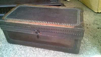 14D10017 SMALL CHINESE LEATHER ON CAMPHOR WOOD TRUNK (1).jpg