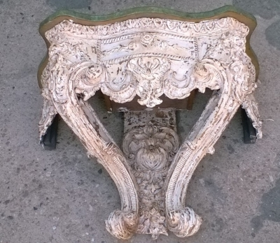 15J15 CARVED FAUX MARBLE TOP WALL CONSOLE (1).jpg