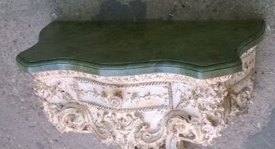 15J15 CARVED FAUX MARBLE TOP WALL CONSOLE (2).jpg