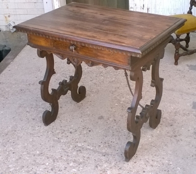 15J15 ITALIAN SINGLE DRAWER TABLE.jpg