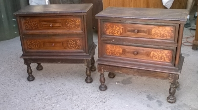 15J15 PAIR OF ITALIAN 2 DRAWER STANDS (2).jpg