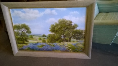 15J18 LARGE BLUE BONNET OIL PAINTING BY JULE PIPER (1).jpg