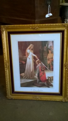 FRAMED PRINT OF PRINCESS AND KNIGHT.jpg