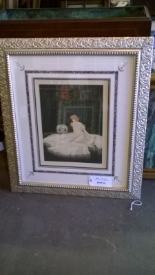 15J12 FRAMED ART DECO SITTING LADY.jpg