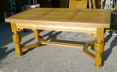 15J24 BELGIAN OAK DRAWLEAF TABLE (1).jpg