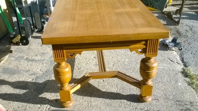 15J24 BELGIAN OAK DRAWLEAF TABLE (4).jpg
