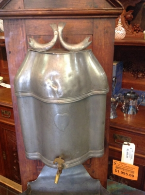 14C06006 FRENCH PEWTER LAVABO.JPG
