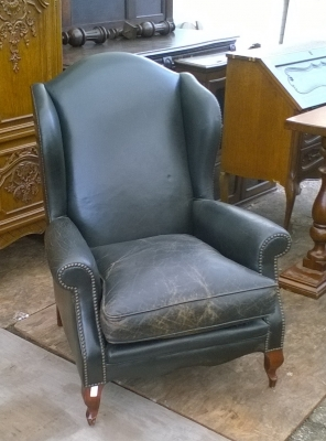 15K11300 LEATHER WINGBACK CHAIR.jpg