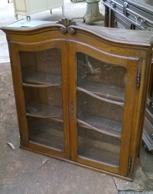 15K11300 LOUIS XV BOOKCASE DROPFRONT SECRETARY (1).jpg