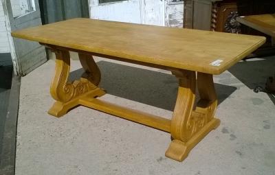 15K11300 OAK TRESTLE BASE TABLE (1).jpg