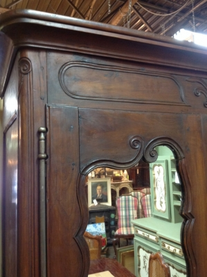 14C06005 LOUIS XV FRENCH 19TH CENTURY ARMOIRE.JPG