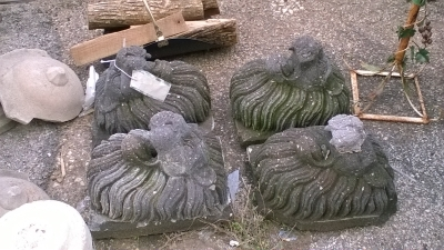15H CONCRETE LIONHEAD FOUNTAINS.jpg