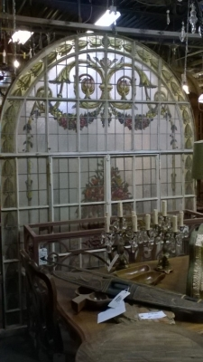 15K15011 HUGE ARCHED STAINED GLASS WINDOW (1).jpg