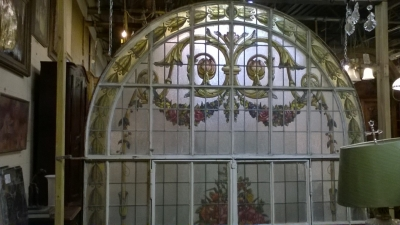 15K15011 HUGE ARCHED STAINED GLASS WINDOW (2).jpg