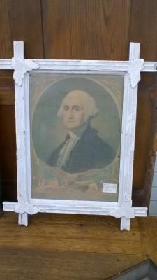 15K24509 WHITE FRAMED GEORGE WASHINGTON PRINT.jpg